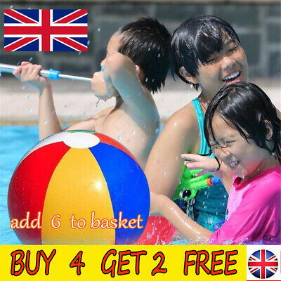 1PCS Panel Inflatable Sea Beach Ball Holiday Swimming Pool Party Balls  SN