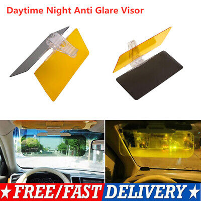 Daytime Night Anti Glare Visor Driving HD Vision Driving Mirror Sun Visor Clip