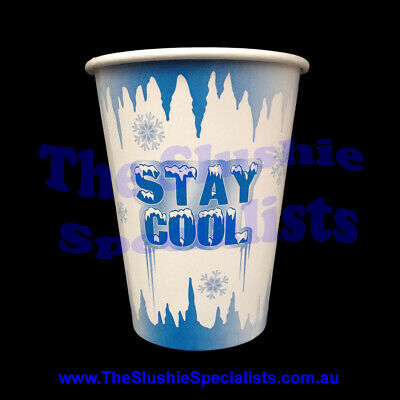Stay Cool 12oz/350ml Paper Cup / The Slushie Specialists