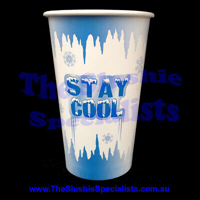 Stay Cool 16oz/450ml Paper Cup / The Slushie Specialists
