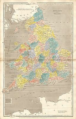 1809 Antique Map-Arrowsmith- England And Wales