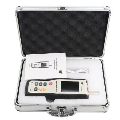 Hti HT9600 PM2.5 PM10 Detector Dust Particle Counter Temperature Humidity Tester