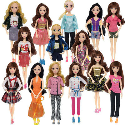 Pants Short Skirts Outfit Dress Clothes Accessories For Barbie Doll Girls Gift