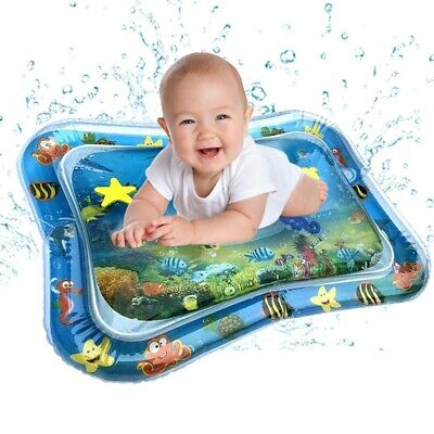 Inflatable Baby Water Mat Fun Activity Play Center for Children & Infants X