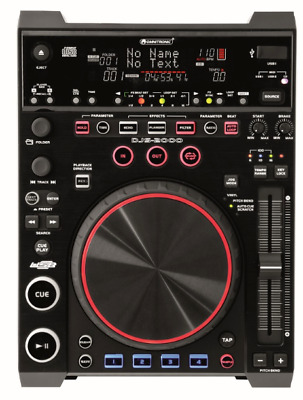 DJS-2000 DJ-Player Media-Player und MIDI-Controller für DJs + Software CD Player