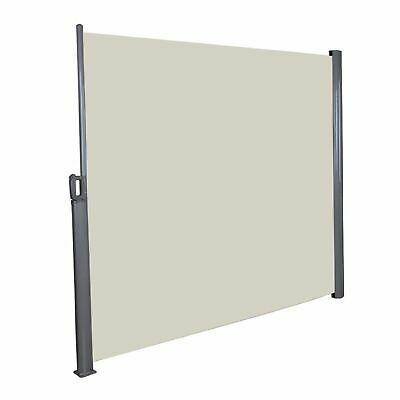 Brise Side View Extensible Store Partition Automatic Winding in Beige - 3x1.6m