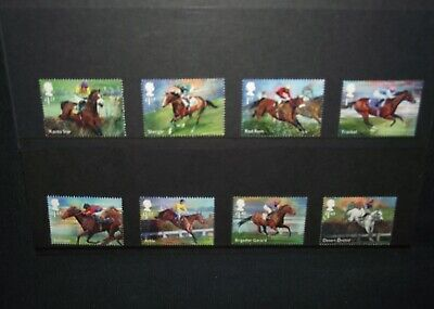 GB 2017 Race Horse Legends stamp set unmounted mint.