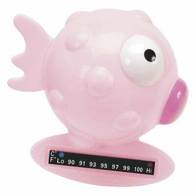 Chicco Bath Thermometer: Fish, Pink, 110 Grams