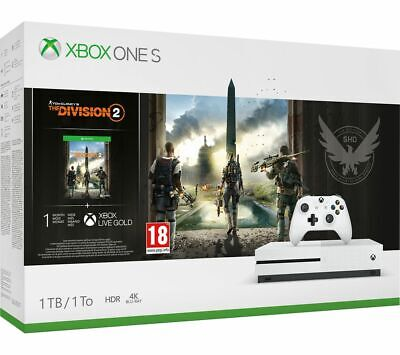 MICROSOFT Xbox One S with Tom Clancy's The Division 2 - Currys