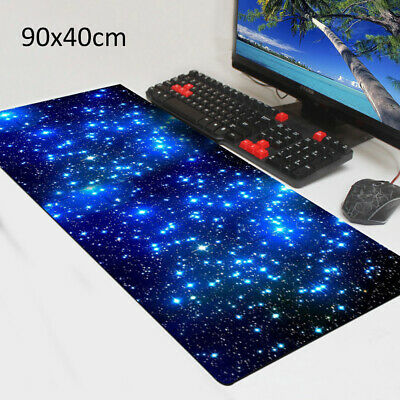 Extra Large XL Galaxy Gaming Mouse Pad Mat for PC Laptop Anti-Slip 90cm*40cm