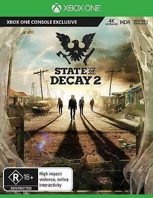 State of Decay 2 Xbox One Gaming Playing Action Adventure Gameplay Video Games