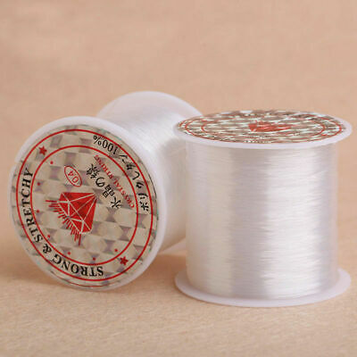 Nylon Clear Beading Wire Cord Thread Fishing String Jewelry Making DIY Craft USA