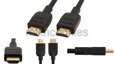 AMAZONBASICS HIGH-SPEED HDMI Cable Gold Plated HDTV 4K