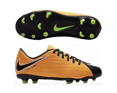 premium selection 7c093 86a64 YOUTH KIDS NIKE Hypervenom Phantom 3 DF FG Soccer Cleats ...