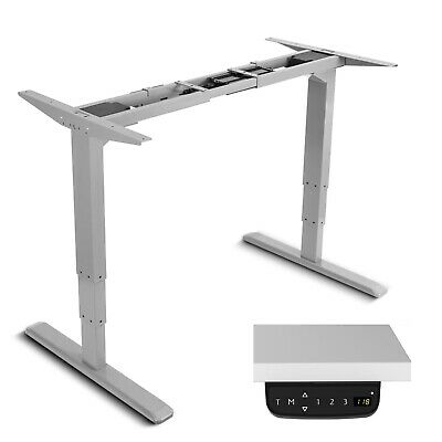 Electric Operated Desk Frame Height and Width Adjustable LED Display Screen