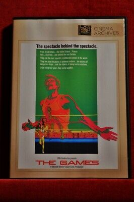 THE GAMES DVD Ryan O'Neal, Charles Aznavour NEW All Region Rome Olympics 1960