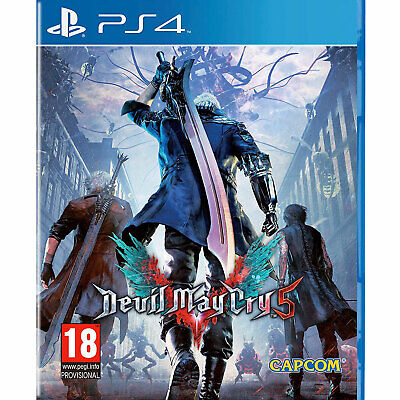 Devil May Cry 5 PS4 New and Sealed DMC Five