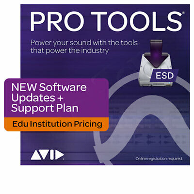 AVID Pro Tools - EDU Institute - Update & Support Plan - DL
