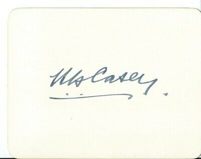 Autograph, Australia, Baron Richard Casey, Governor General, Signed Card, 1959