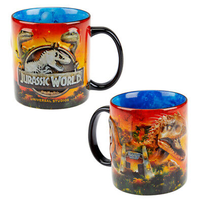 Universal Studios Jurassic World Ceramic Coffee Mug New
