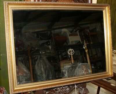 Vintage Gilt Framed Wall Mirror - FREE Shipping [5370]