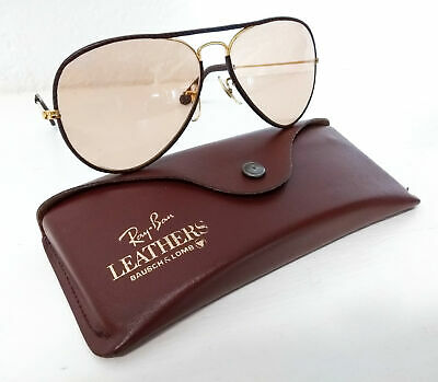 993761d8f Ray Ban Leathers Aviator 58.14 Bl Fotocromatico Bausch Lomb Occhiali Vintage