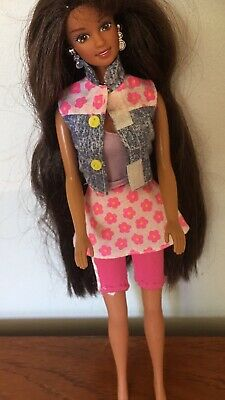 Barbie Beach Teresa  Doll Flower Outfit 1990