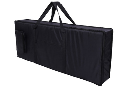 Tosnail 61-note Keyboard Gig Bag Piano Case Padded with 6mm Cotton - 39'' x 16""
