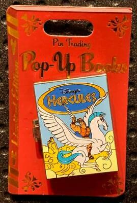 Disney Parks Trading Pop-Up Books Hercules Pin LE4000 In Hand