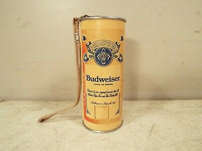 BUDWEISER BEER Film CAMERA Can BUD Collectible ADVERTISING - Vintage