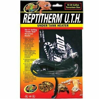 "Zoo Med Reptitherm Under Tank Heater (1020 gallons) 6"" by 8"""