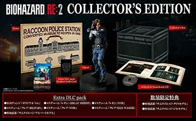 NEW PS4 BIOHAZARD RE:2 Z Version COLLECTOR'S EDITION JAPAN OFFICIAL IMP... Japan