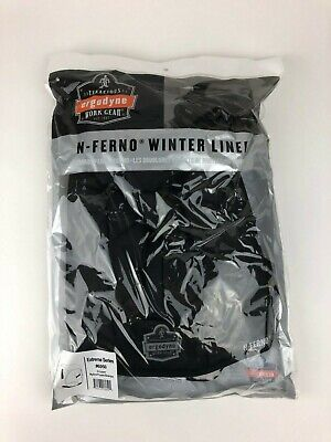 Winter Hard Hat Liner Regular Length Ergodyne N-Ferno 6950 Sherpa Fleece