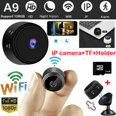 Mini 1080P Wifi Hidden IP Camera Spy Network Monitor Security Cam Night Vision