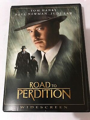 ROAD TO PERDITION DVD 2002 Widescreen Canadian Tom Hanks Paul Newman Jude Law