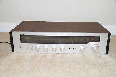 ~ Vintage Rotel RX-102 Stereo Receiver in Wood Case ~