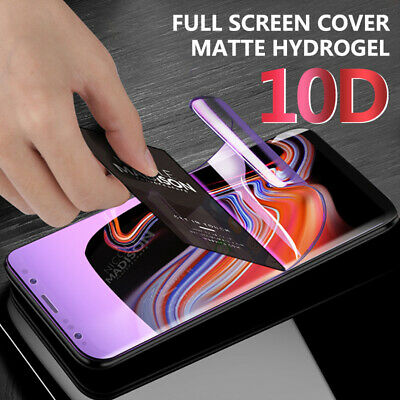 For Samsung Galaxy Note 10 Plus S10 S9 S8 Hydrogel Flim Screen Protector Cover