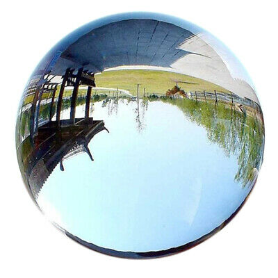 40Mm Clear Glass Crystal Ball Healing Sphere Photography Props Gifts A3Q7