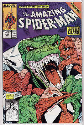 THE AMAZING SPIDER-MAN #313 (1989) Todd McFarlane Cover and Art Inferno VF+/NM
