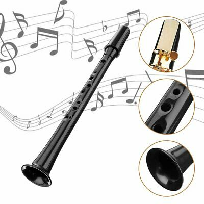 Little Sax Mini Alto Saxophone Simple Key C Pocket Music Tool ABS + Carry Bag TR