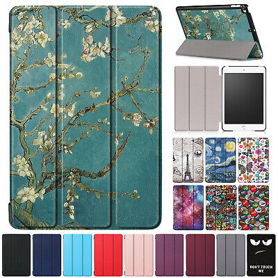 For iPad Mini 5th Gen 2019 Case Smart Magnetic Leather Slim Folded Stand Cover