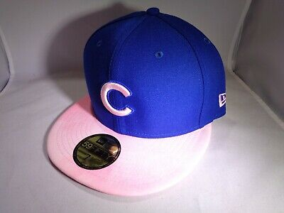 d2b7fc73f10652 Chicago Cubs MLB 2019 Mother's Day New Era 59FIFTY Fitted Hat (MEN Size 7 1
