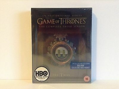 Game of Thrones - Season 3 (Limited Edition Steelbook with Collectible Magnet)