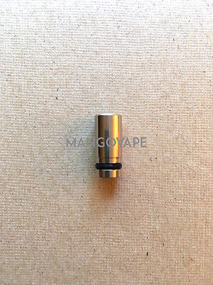 Aspire Plato Silver Stainless Drip Tip Mouth Piece SAME DAY SHIP