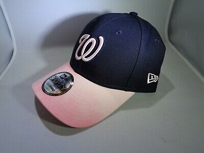 Washington Nationals MLB 2019 Mother's Day New Era 9FORTY Cap Hat (MEN One-Size)