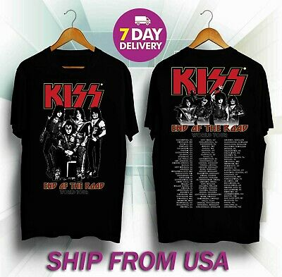 Kiss 'End of the Road' World Tour Dates 2019 T-shirt
