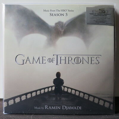 'GAME OF THRONES 5' Soundtrack MOV Limited 180g Colour Vinyl 2LP NEW SEALED
