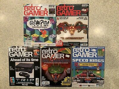 RETRO GAMER MAGAZINE lot – 10 complete issues 41 to 50 RARE