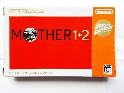 Game Boy Advance Mother 1+2 Box Nintendo GBA Japan JPN