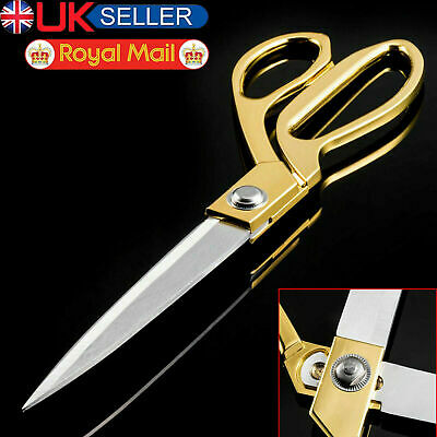 """10.5"""" Tailoring Scissors Stainless Steel Dressmaking Shears Fabric Cutting Craft"""